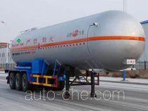 Jinbi PJQ9405GYQA liquefied gas tank trailer