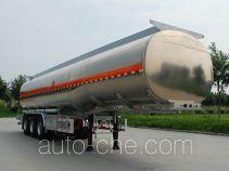 Jinbi PJQ9405GYYL aluminium oil tank trailer