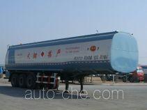 Jinbi PJQ9406GHYX chemical liquid tank trailer