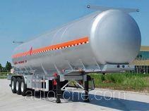 Jinbi PJQ9406GRYL flammable liquid aluminum tank trailer