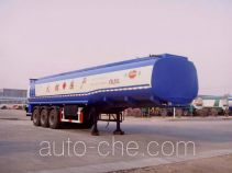 Jinbi PJQ9407GHYX chemical liquid tank trailer
