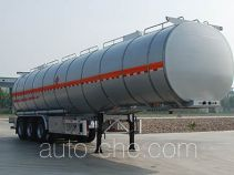 金碧牌PJQ9407GRYL型铝合金易燃液体罐式运输半挂车