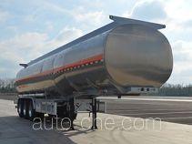 Jinbi PJQ9407GYYL aluminium oil tank trailer