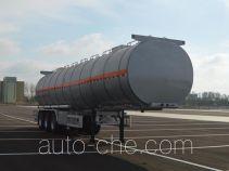 金碧牌PJQ9408GRYL型铝合金易燃液体罐式运输半挂车