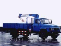浦沅牌PY5090JSQ3型随车起重运输车