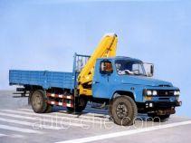 浦沅牌PY5090JSQ3A型随车起重运输车