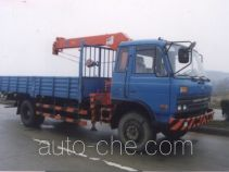 浦沅牌PY5101JSQ3型随车起重运输车