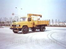 浦沅牌PY5102JSQ3S2型随车起重运输车