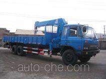 浦沅牌PY5201JSQ型随车起重运输车