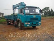 浦沅牌PY5253JSQG型随车起重运输车