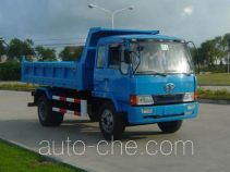 琴岛牌QD3050PK2A84型平头柴油自卸汽车