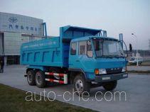 琴岛牌QD3240P1K2T1型平头柴油自卸车