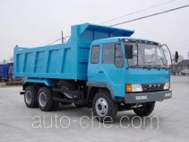 琴岛牌QD3250P1K2T1型平头柴油自卸车