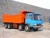 琴岛牌QD3310P1K2T4型平头柴油自卸车