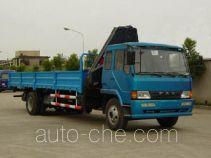 Qindao QD5150JSQ truck mounted loader crane