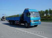 Qindao QD5220JSQ7 truck mounted loader crane