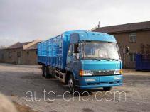 琴岛牌QD5250XXYL7T1-1型仓栅式厢式运输车