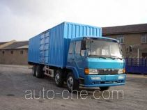 琴岛牌QD5290XXYP1K2L7T4-3型厢式运输车