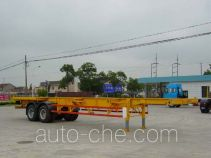 Qindao QD9350TJZ container transport skeletal trailer