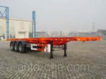 Qindao QD9380TJZ container transport skeletal trailer