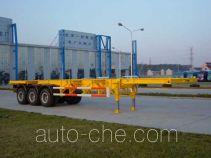 琴岛牌QD9400TJZ型骨架式集装箱运输半挂车