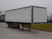 Qindao QD9400XXY box body van trailer