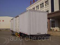 Tianxiang QDG9260XXY box body van trailer