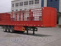 天翔牌QDG9406CLX型仓栅式运输半挂车