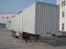 Tianxiang QDG9406XXY box body van trailer
