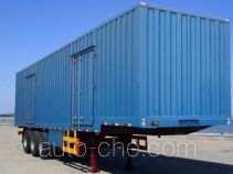 Tianxiang QDG9407XXY box body van trailer