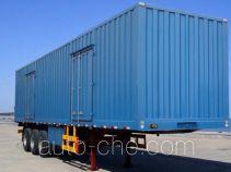 天翔牌QDG9408XXY型厢式运输半挂车