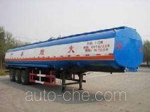 Huachang QDJ9400GHY chemical liquid tank trailer