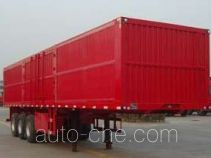 Huachang box body van trailer