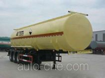 Huachang QDJ9401GFW corrosive materials transport tank trailer