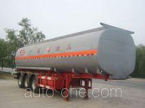 Huachang QDJ9401GHYA chemical liquid tank trailer