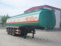 Huachang QDJ9401GHYB chemical liquid tank trailer