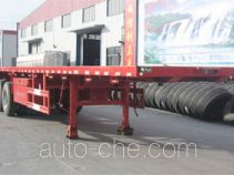 Huachang QDJ9401TPB flatbed trailer