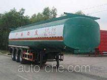 Huachang QDJ9402GHYA chemical liquid tank trailer