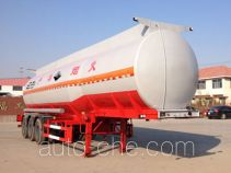 Huachang QDJ9403GFW corrosive materials transport tank trailer