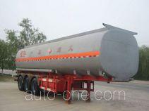 Huachang QDJ9403GHY chemical liquid tank trailer
