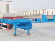 Huachang QDJ9403TJZG container transport skeletal trailer