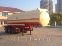Huachang QDJ9404GFW corrosive materials transport tank trailer