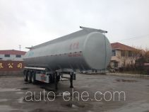 Huachang QDJ9404GHY chemical liquid tank trailer