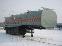 Huachang QDJ9404GHYA chemical liquid tank trailer