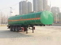 Huachang QDJ9404GRYA flammable liquid tank trailer