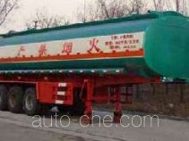 Huachang QDJ9405GHY chemical liquid tank trailer