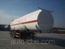 Huachang QDJ9405GHYA chemical liquid tank trailer