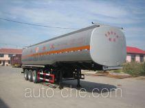 Huachang QDJ9405GYY oil tank trailer