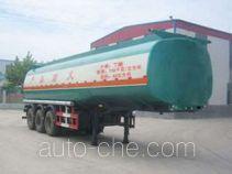 Huachang QDJ9406GHY chemical liquid tank trailer
