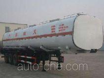 Huachang QDJ9406GRY flammable liquid tank trailer